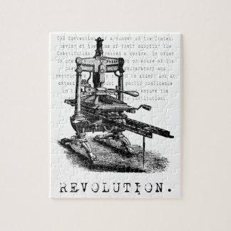 Printing Press = REVOLUTION! Puzzle