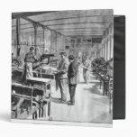 Printing the banknotes vinyl binder