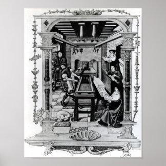 Printing workshop poster