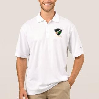 PrionAlliance men's white polo shirt