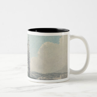 Prior Church, Haddington, 1786 Two-Tone Coffee Mug