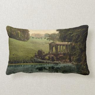 Prior Park College with Palladin Bridge, England Lumbar Pillow