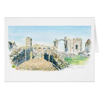 Priorato de Lindisfarne Tarjeta De Felicitación
