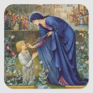Prioresses Tale Square Sticker