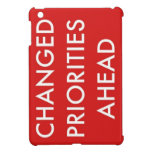 Prioridades cambiadas a continuación iPad mini carcasas