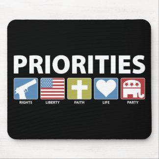 Prioridades del GOP Tapete De Ratones