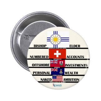 """Prioridades las"""" del mitón Anti-Romney Pin Redondo 5 Cm"""