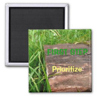 Prioritize Refrigerator Magnet