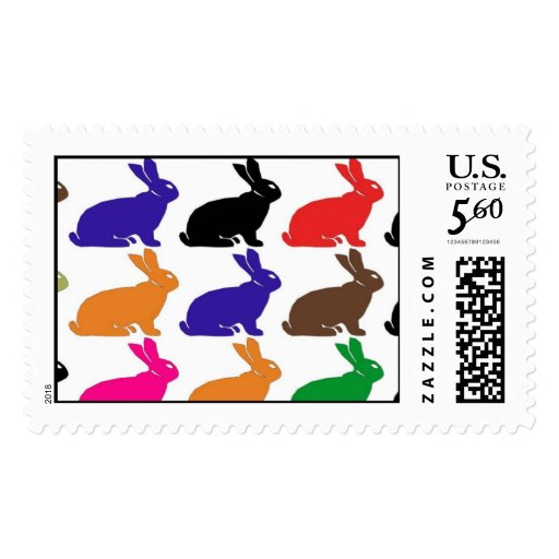 Priority Mail Rabbits Stamps