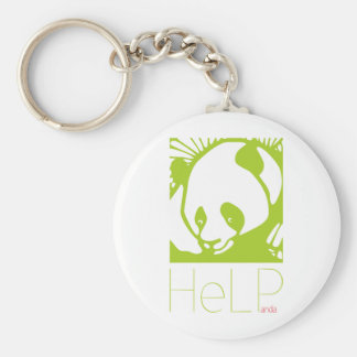 Priority species: Giant panda Keychain