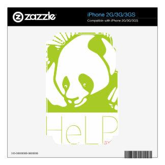 Priority species Giant panda iPhone 3G Decal
