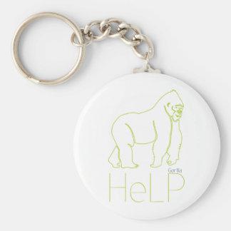 Priority species: Gorilla Keychain