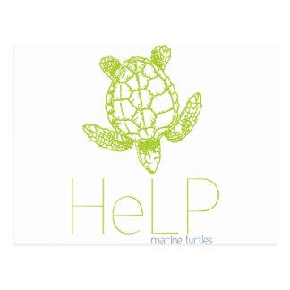 Priority species: Marine turtles Postcard
