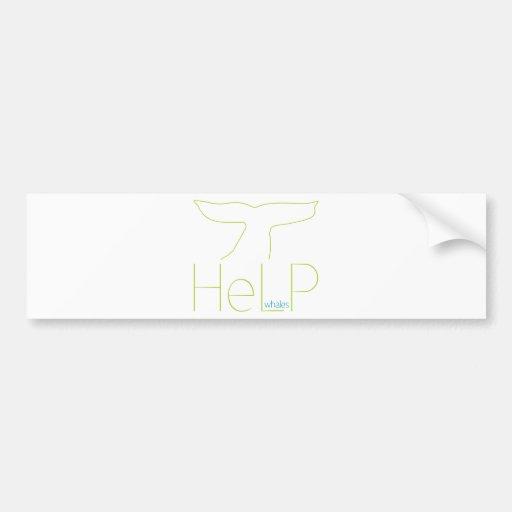 Priority species: Whales Bumper Sticker