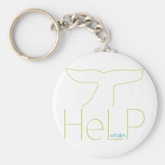 Priority species: Whales Keychain