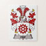 Prip Family Crest Puzzle