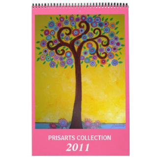 PRISARTS COLLECTION 2011 CALENDAR