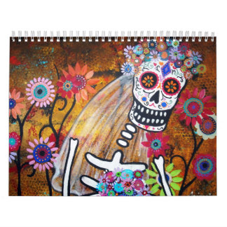 PRISARTS COLLECTION CALENDAR 2013 DAY OF THE DEAD WALL CALENDAR