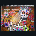 """PRISARTS COLLECTION CALENDAR  DAY OF THE DEAD<br><div class=""""desc"""">Collection of Prisarts Painting</div>"""