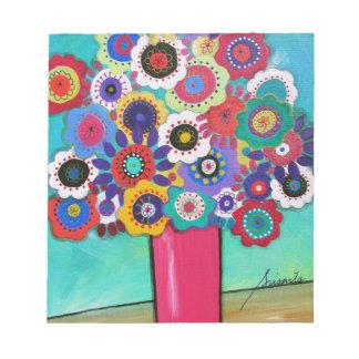 Prisarts Florals Memo Notepad