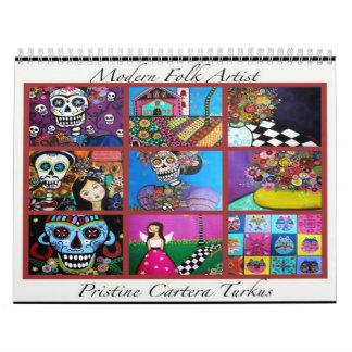 PRISARTS Painting Collection 2012 CALENDAR