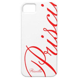 Priscilla - beautiful iPhone 5 Case