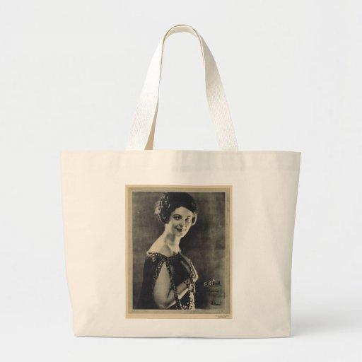 Priscilla Dean 1923 vintage portrait Jumbo Tote Bag