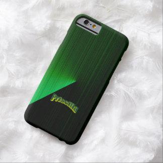Priscilla Green Highlights on Black iPhone 6 case