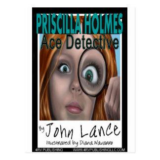 Priscilla Holmes, Ace Detective Postcard