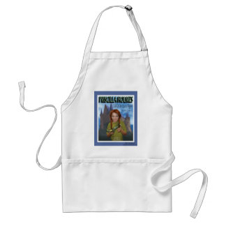Priscilla Holmes and the Case of Glass Slipper Adult Apron