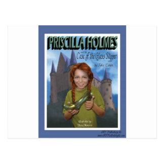 Priscilla Holmes and the Case of Glass Slipper Postcard