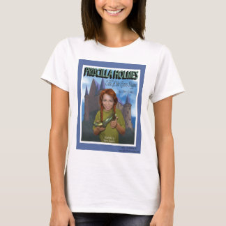 Priscilla Holmes and the Case of Glass Slipper T-Shirt