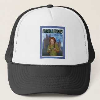 Priscilla Holmes and the Case of Glass Slipper Trucker Hat
