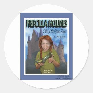 Priscilla Holmes y el caso del deslizador de Pegatina Redonda