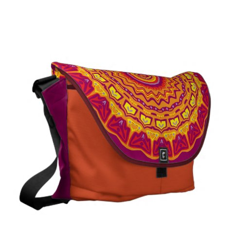 Priscilla Kaleidoscope Rickshaw Messenger Bag