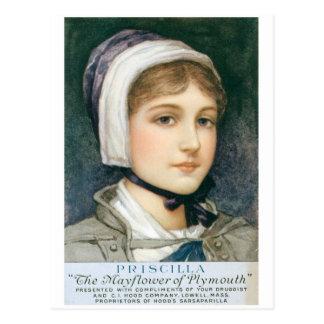Priscilla Postcard