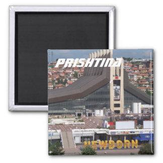Prishtina, Kosovo Magnet