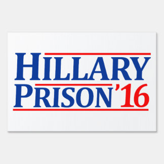 Prisión 2016 de Hillary Letreros