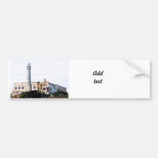 Prisión de Alcatraz Etiqueta De Parachoque