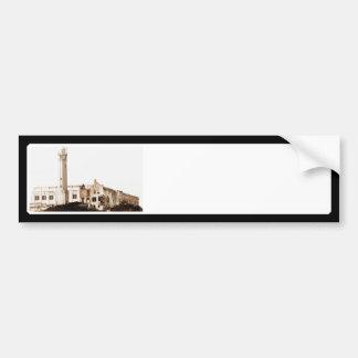 Prisión de Alcatraz (tonos de la sepia) Etiqueta De Parachoque