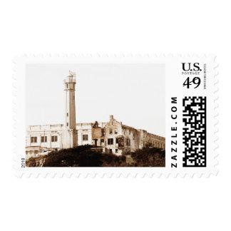 Prisión de Alcatraz (tonos de la sepia) Sello