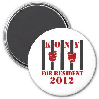 Prisión de José Kony de la parada de Kony 2012 Imán De Frigorífico