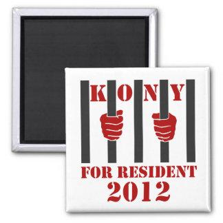Prisión de José Kony de la parada de Kony 2012 Imanes De Nevera