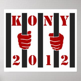 Prisión de José Kony de la parada de Kony 2012 Impresiones