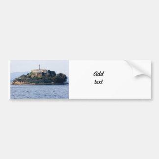 Prisión de la isla, Alcatraz Etiqueta De Parachoque
