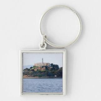 Prisión de la isla, Alcatraz Llavero Cuadrado Plateado