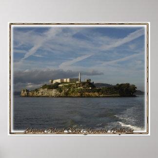 Prisión de la isla de Alcatraz Póster