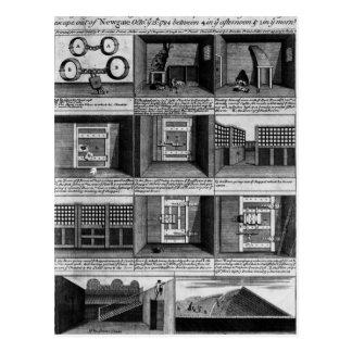 Prisión de Newgate de la forma del escape del Tarjetas Postales