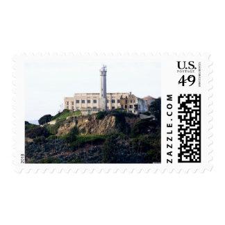 Prisión en la isla de Alcatraz Sello