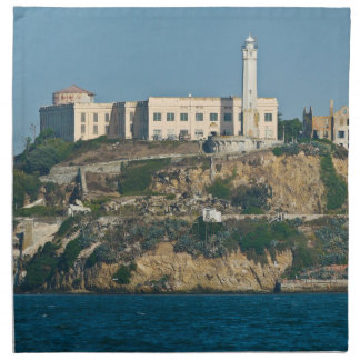Prisión San Francisco Bay de la isla de Alcatraz Servilleta